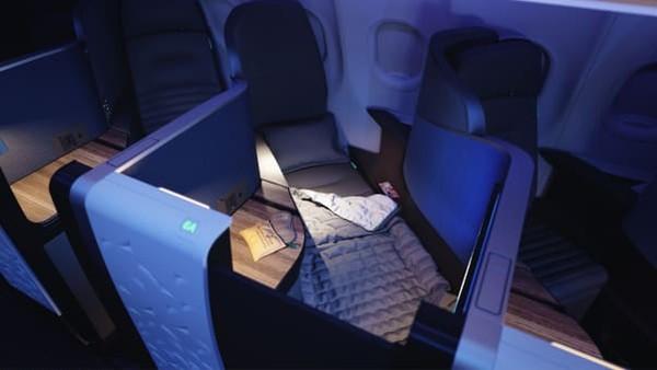 Kabin di atas adalah inovasi yang bisa mengubah kelas bisnis yang ada saat ini. Karena, harga tiket yang dipatok JetBlue pun tak akan lebih tinggi yang bisa dijangkau lebih banyak traveler.