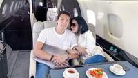 Romantisnya Syahrini dan Reino Barack Saat Kulineran di Berbagai Negara