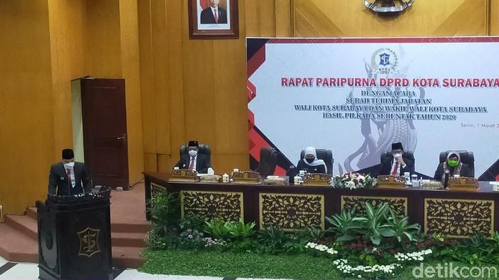 Sertijab Wali Kota Surabaya Eri Cahyadi