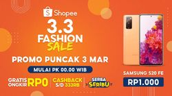 Gelar 3.3 Fashion Sale, Shopee Hadirkan Button inFashion by Shopee