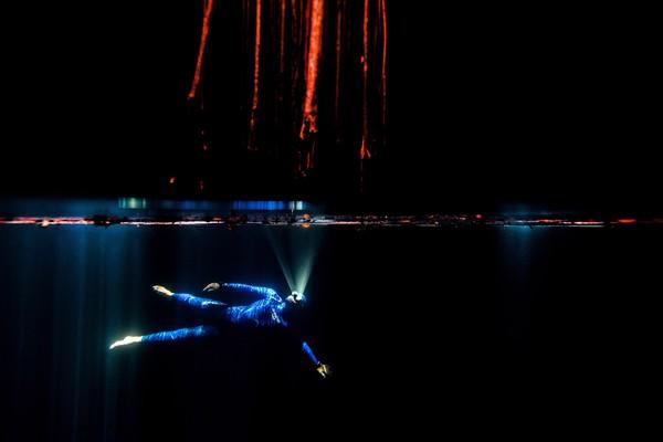 Nery, seorang bintang dalam karya One Breath Around the World, sebuah film pendek yang mengeksplorasi dunia bawah laut. Tentu keadaan sebenarnya belum pernah kita lihat.