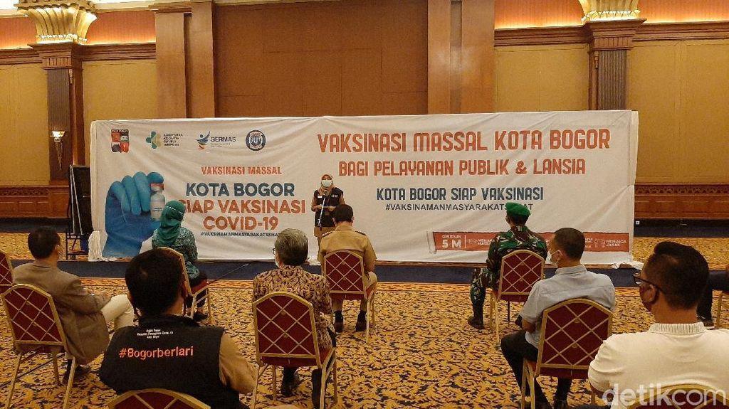 Pelayan Publik di Kota Bogor Divaksinasi COVID-19 Mulai Hari Ini