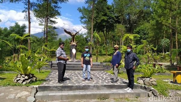 Ada kawasan baru di Jurang Jero, yaitu Tugu Elang. Lokasi ini persis di mana Presiden Joko Widodo melepas burung elang Jawa pada 14 Februari 2020. (Eko Susanto/detikcom)