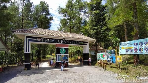 Jurang Jero di Kabupaten Magelang, Jawa Tengah telah tutup selama tiga bulan, tepatnya pada hari Sabtu (7/11/2020) lalu. (Eko Susanto/detikcom)