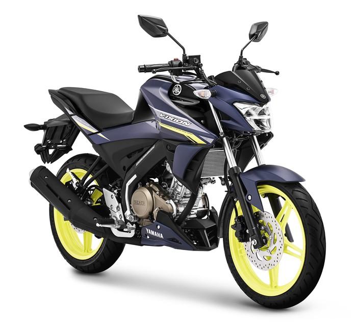 Yamaha Vixion tampil mentereng