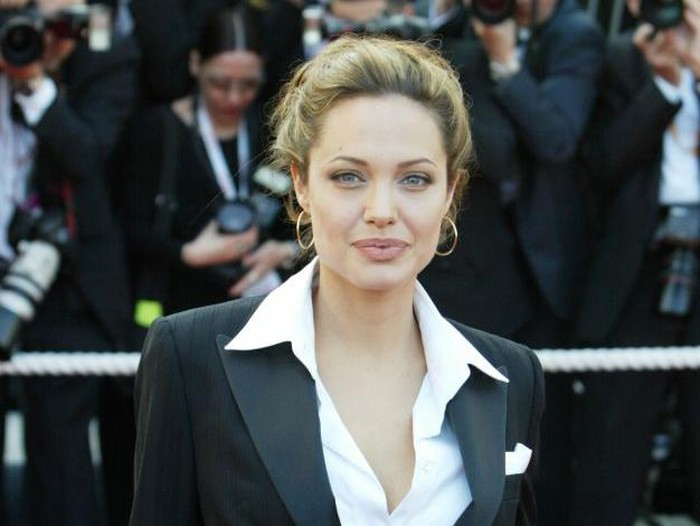 CANNES, FRANCE - MAY 15:  Actress Angelina Jolie attends the Premiere of movie