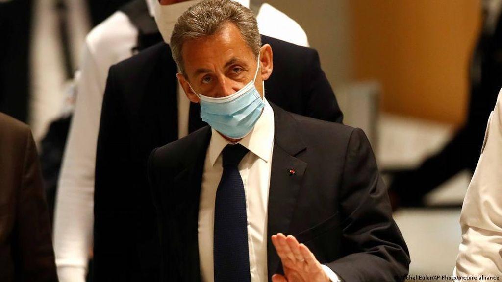 Korupsi, Eks Presiden Prancis Nicolas Sarkozy Dibui 3 Tahun