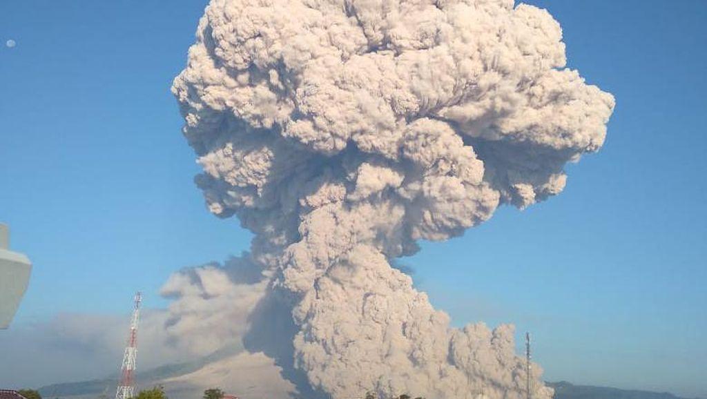 Gunung Sinabung Erupsi, Ini Analisis PVMBG