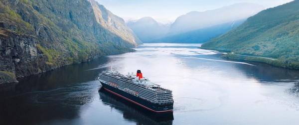 Cunard (67,7%) dikenal dengan kapal pesiar bernama Queen Mary 2, Queen Victoria, dan Queen Elizabeth. Armada ini banyak membawa tamu terkenal, menurut situs web perusahaan (Foto: Cunard Line)