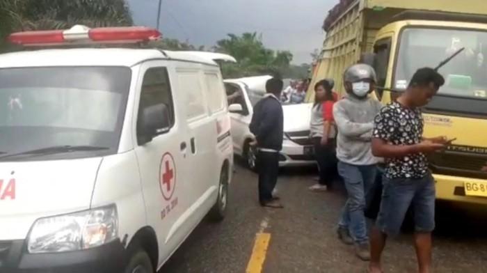 Kecelakaan maut di Jambi (dok. Istimewa)