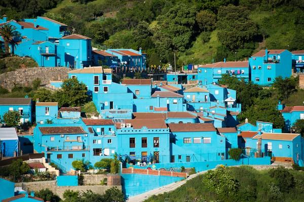Sebelum berwarna biru menggemaskan, dulunya Juzcar masuk dalam daftar kota berwarna putih. (Getty Images/iStockphoto)