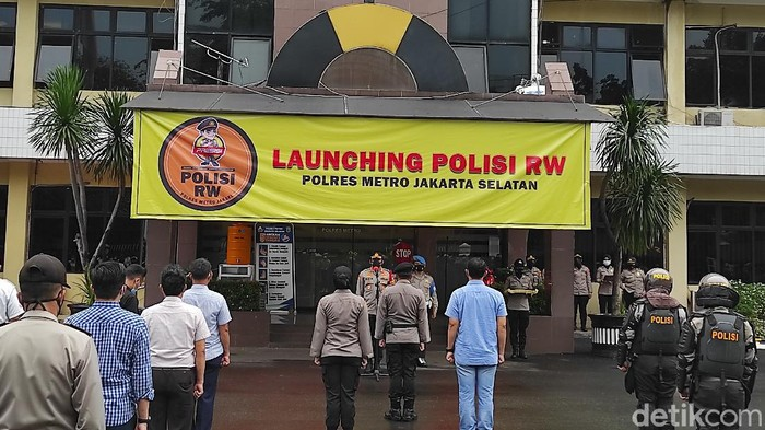 Launching Polisi RW di Polres Metro Jaksel (Azhar/detikcom)