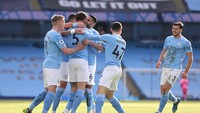 Man City Vs MU: The Citizens Menatap 2 Rekor