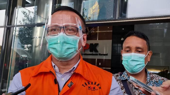 mantan Menteri Kelautan dan Perikanan (KKP) Edhy Prabowo