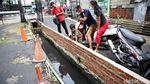 Penampakan Saluran Air di Koja yang Disulap Jadi Kolam Ikan