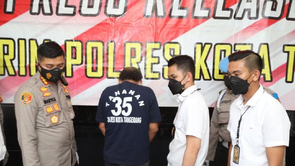 Pelaku Curanmor Ditangkap Usai Bobol 8 Rumah Warga Tangerang