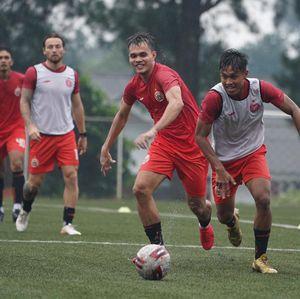 Skuad Persija Jakarta Belum Komplet saat Latihan Perdana
