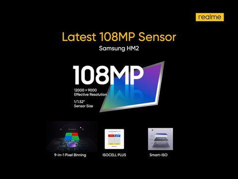 Kamera 108 MP di Realme 8 Series