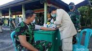 Momen 1.000 Personel Kodam Udayana Jalani Vaksinasi COVID-19