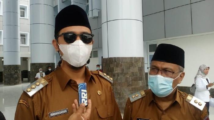 Wali Kota (Walkot) Bukittinggi, Erman Syafar (Jeka Kampai/detikcom)