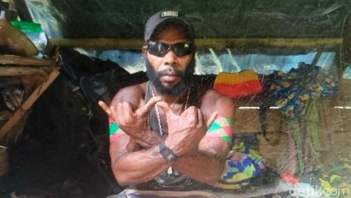 Anggota KKB yang juga Danton Kodap III Kalikopi, Ferry Elas yang tewas dalam kontak tembak di Mimika (dok Polda Papua)