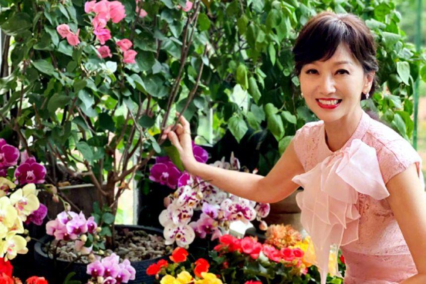 Aktris Angie Chiu awet muda hingga kini!