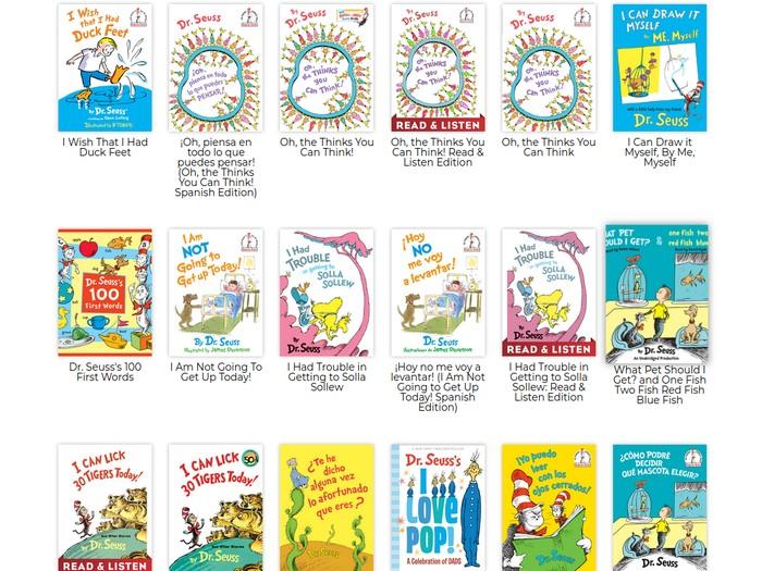 Buku-buku Penulis Dr Seuss