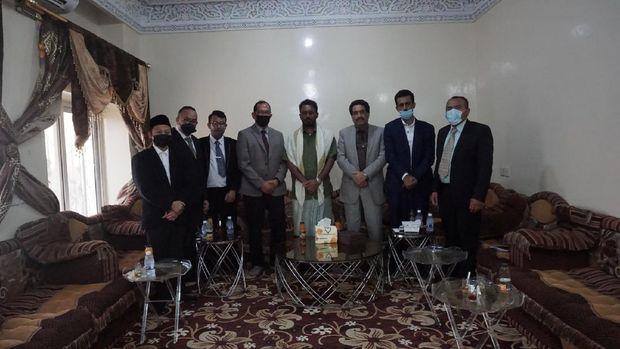 Dubes RI untuk Oman dan Yaman bertemu pimpinan daerah dan tokoh masyarakat di Yaman. (Foto: dok. KBRI Oman)