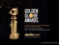 Tonton Penghargaan Golden Globe Streaming di detikcom Besok!
