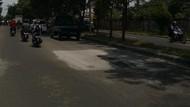 Alhamdulillah! Lubang di Jl I Gusti Ngurah Rai Bekasi Sudah Diperbaiki