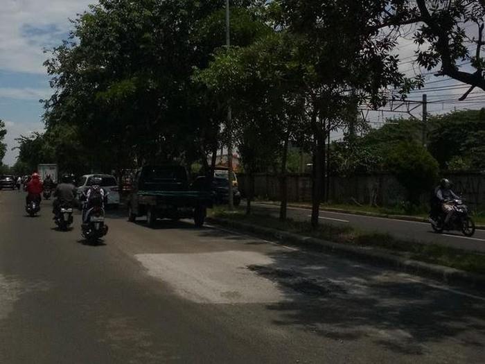 Jl I Gusti Ngurah Rai, Bintara, Bekasi, sudah diperbaiki. (Deden Purwanto/warga via Pasangmata)