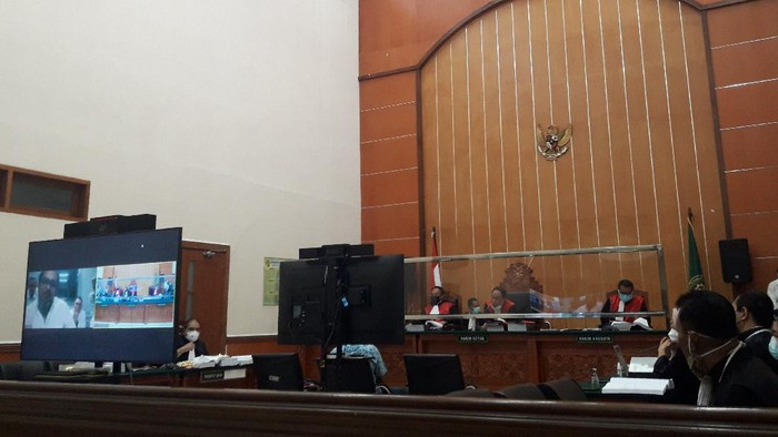 Sidang kasus penyerangan di Green Lake City dan Duri Kosambi, di PN Jakbar, Rabu (3/3/2021).