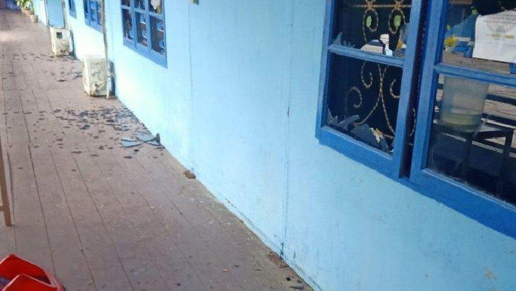 Rusak Kantor-Rumah Dinas Bupati Asmat Usai Pelantikan, 7 Orang Ditangkap