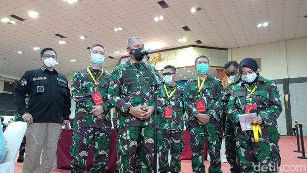 Konpers Kapuskes TNI Mayjen Tugas Ratmono