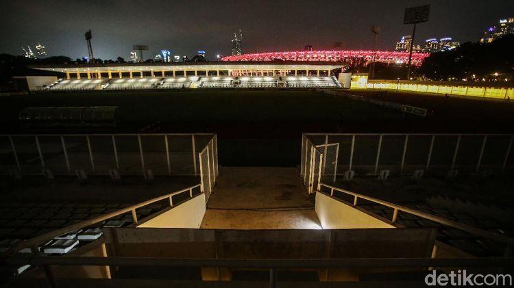 Laga Timnas vs Persikabo Batal, Stadion Madya Gelap