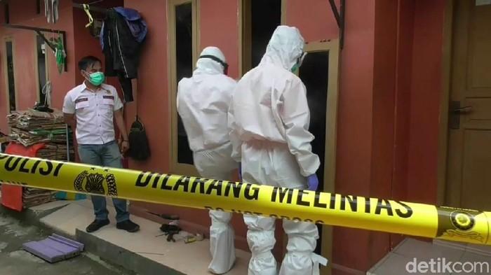 Lokasi penemuan mayat di Subang.