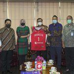 Timnas Basket Dapat Dukungan dari Menkumham dan Menteri BUMN