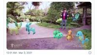 Lebih Seru! Pokemon Go Dimainkan Pakai HoloLens 2