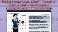 Mau Ikut SBMPTN 2021? Ini Cara Registrasi Akun LTMPT Tahap Dua