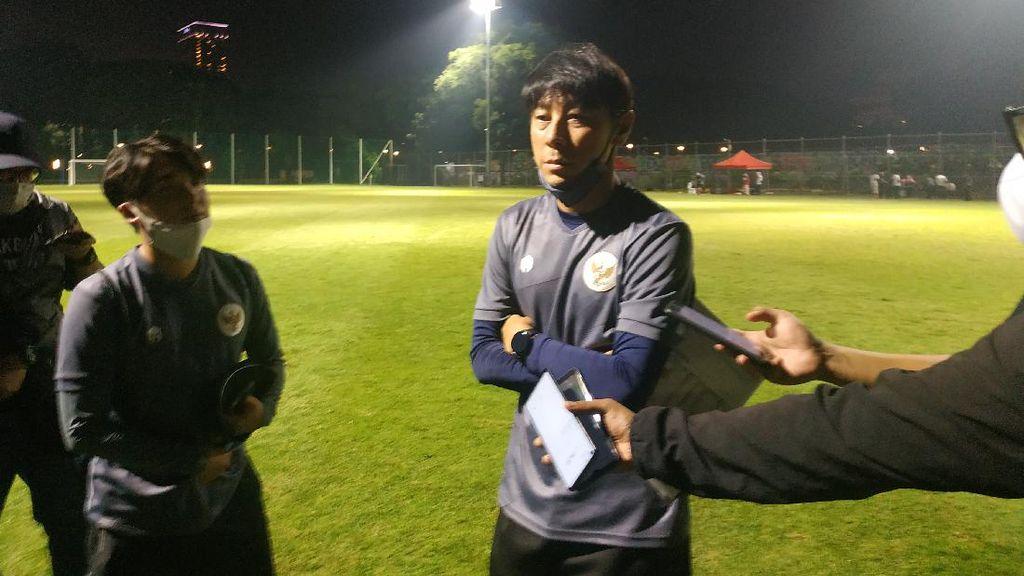 Shin Tae-yong Tuntut Timnas Indonesia Sapu Bersih 2 Uji Coba