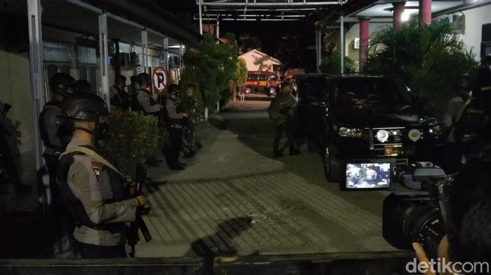 Suasana di RS Bhayangkara Sulteng (M Qadri/detikcom)