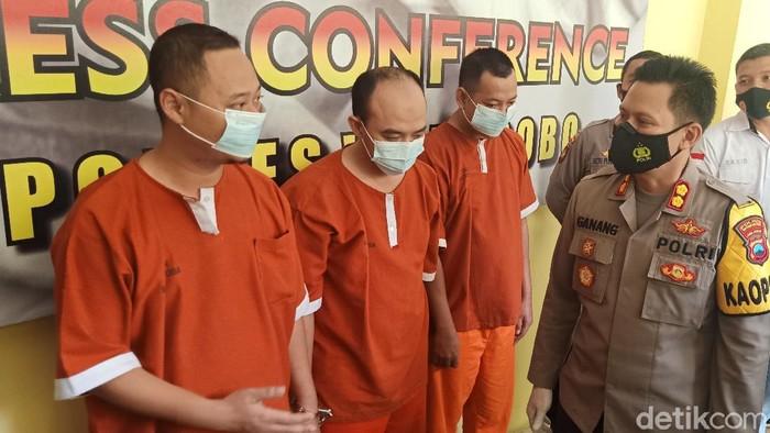 Tiga wartawan gadungan ini peras pejabat Pemda Wonosobo senilai puluhan juta