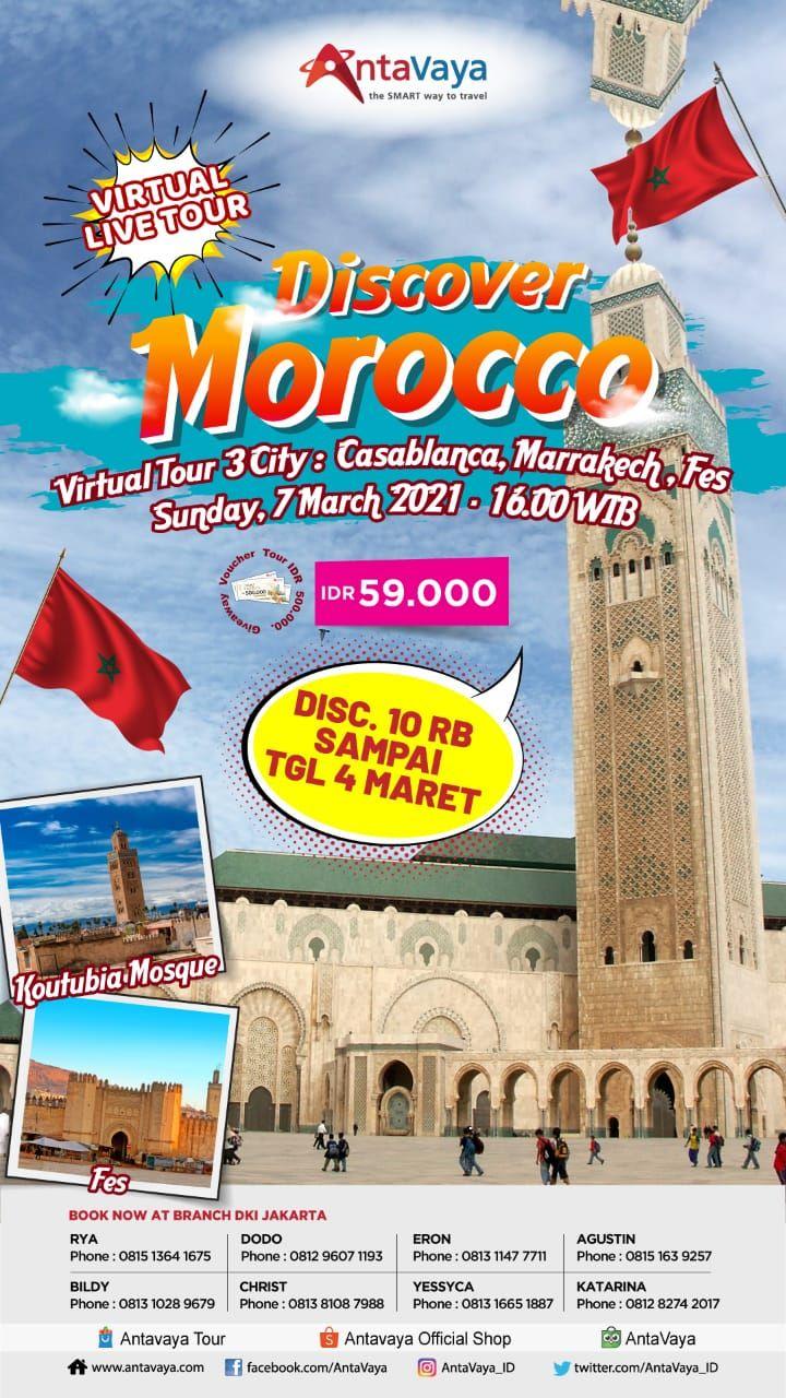 Virtual Live Tour Discover Morocco