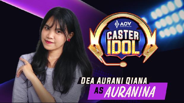 AOV Caster Idol Season 2 oleh Garena menampilkan Auranina dan Zelta