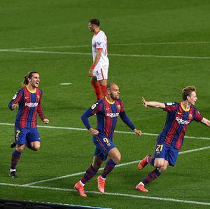 Gol-gol Barcelona Benamkan Sevilla di Camp Nou