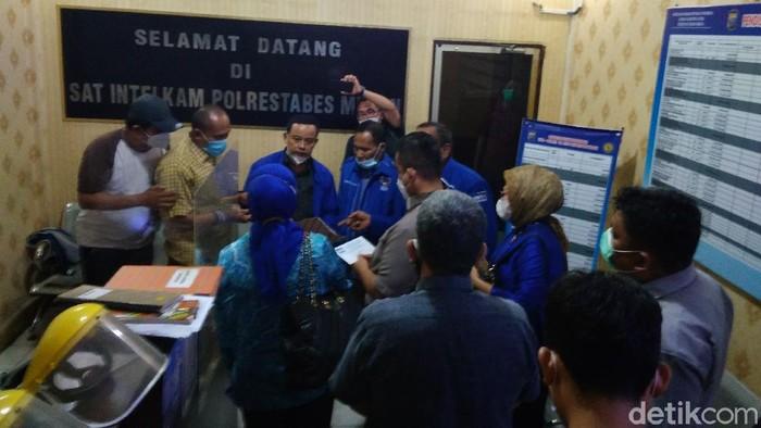 Demokrat Sumut datangi Polrestabes Medan