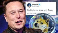 Nilai Dogecoin Anjlok Usai Elon Musk Tampil di SNL