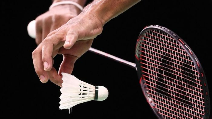 GOLD COAST, AUSTRALIA - APRIL 05:  A detail view of a badminton raquet and shuttlecock during the Badminton Mixed Team Group Play Stage - Group A on day one of the Gold Coast 2018 Commonwealth Games at Carrara Sports and Leisure Centre on April 5, 2018 on the Gold Coast, Australia.  (Photo by Scott Barbour/Getty Images)