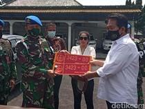 Aksi Wanita Bandung Pamer Pelat Dinas TNI Palsu Berujung Dijemput Denpom