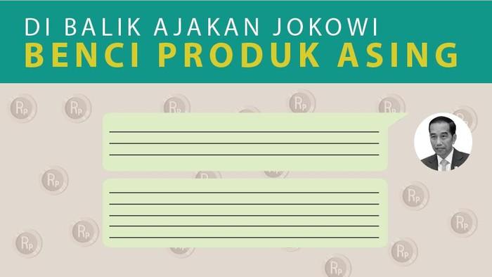 Jokowi Ajak Benci Produk Asing
